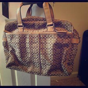 Classic Coach briefcase- laptop bag